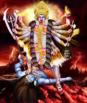 Kali, la deidad de la transformación